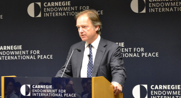 Hugo Swire, UK minister of state at the UK's Foreign and Commonwealth Office with responsibilities for the Far East, Southeast Asia, India, Nepal, Latin America, the Falklands, Australasia, and the Pacific.